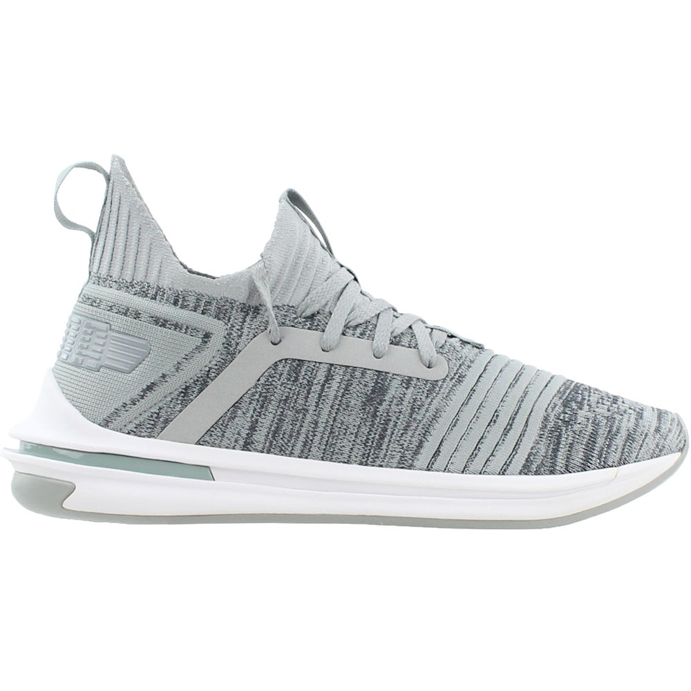 Details about Puma Ignite Limitless SR Evoknit Sneakers - Grey - Mens c9d87254a