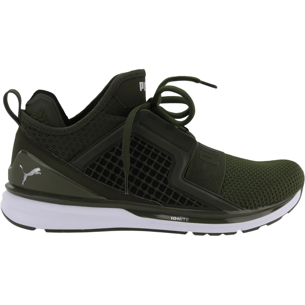 3ebdfd68d231 Details about Puma Ignite Limitless Weave Sneakers - Green - Mens