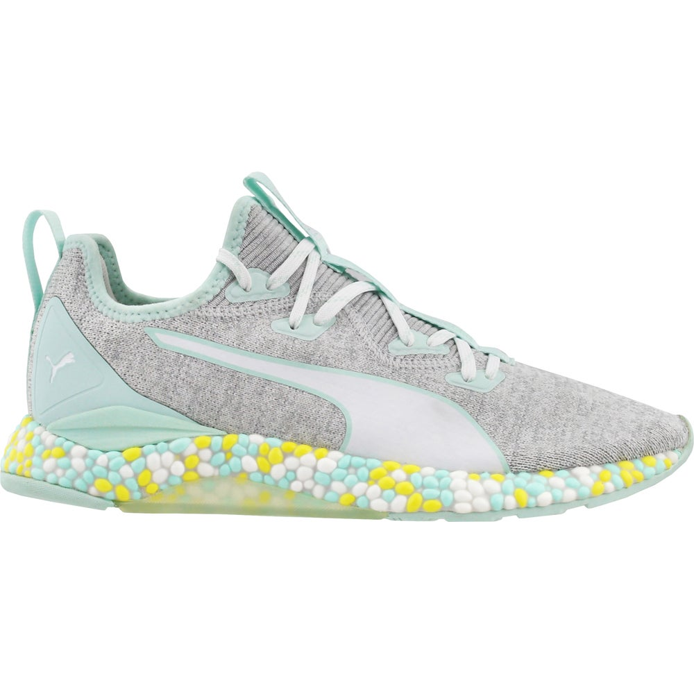 Puma HYBRID Runner Running Shoes Blue, Grey Womens Lace Up Athletic
