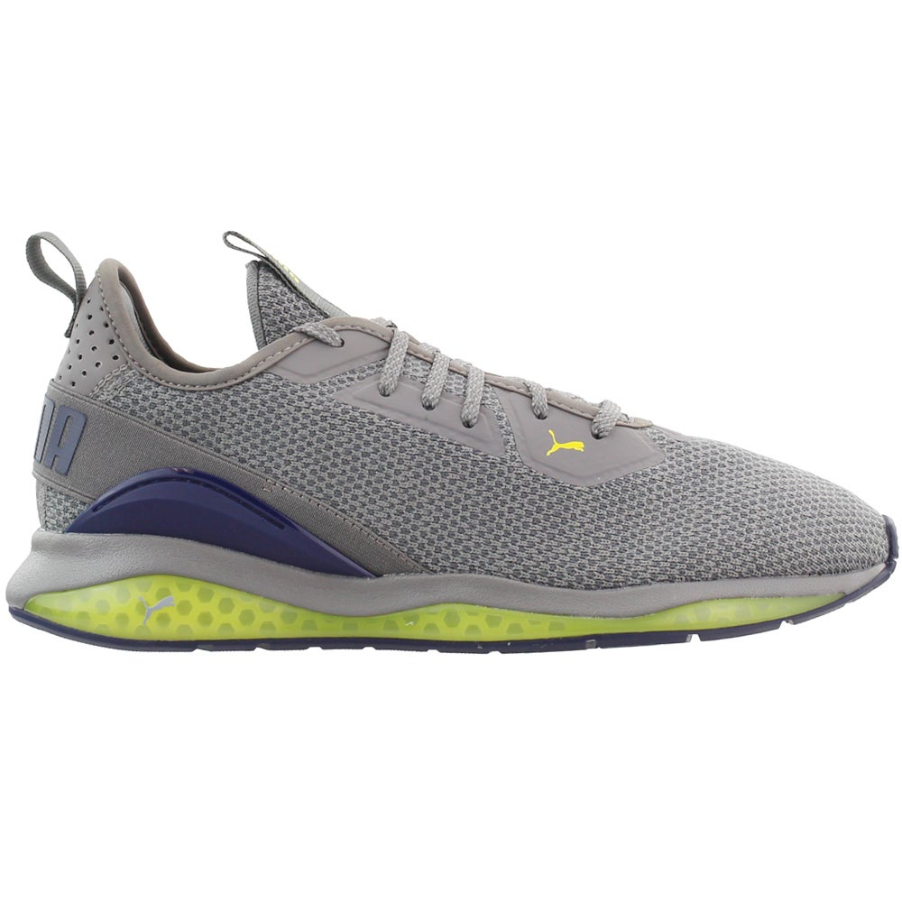Grey Mens Puma Cell Descend Northern Lights  Casual Training  Shoes