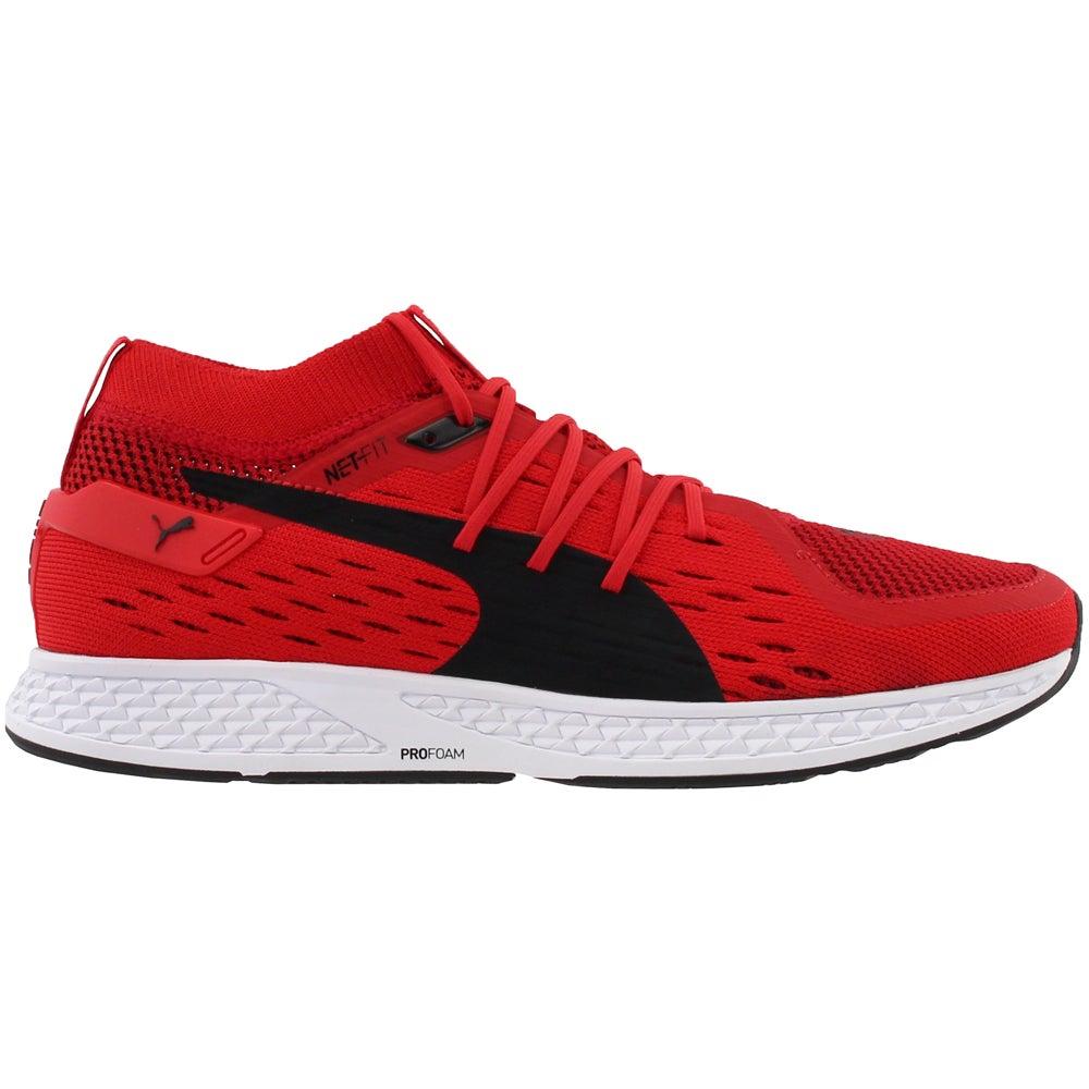 détaillant en ligne a1882 37a59 Details about Puma Speed 500 Casual Running Neutral Shoes - Red - Mens