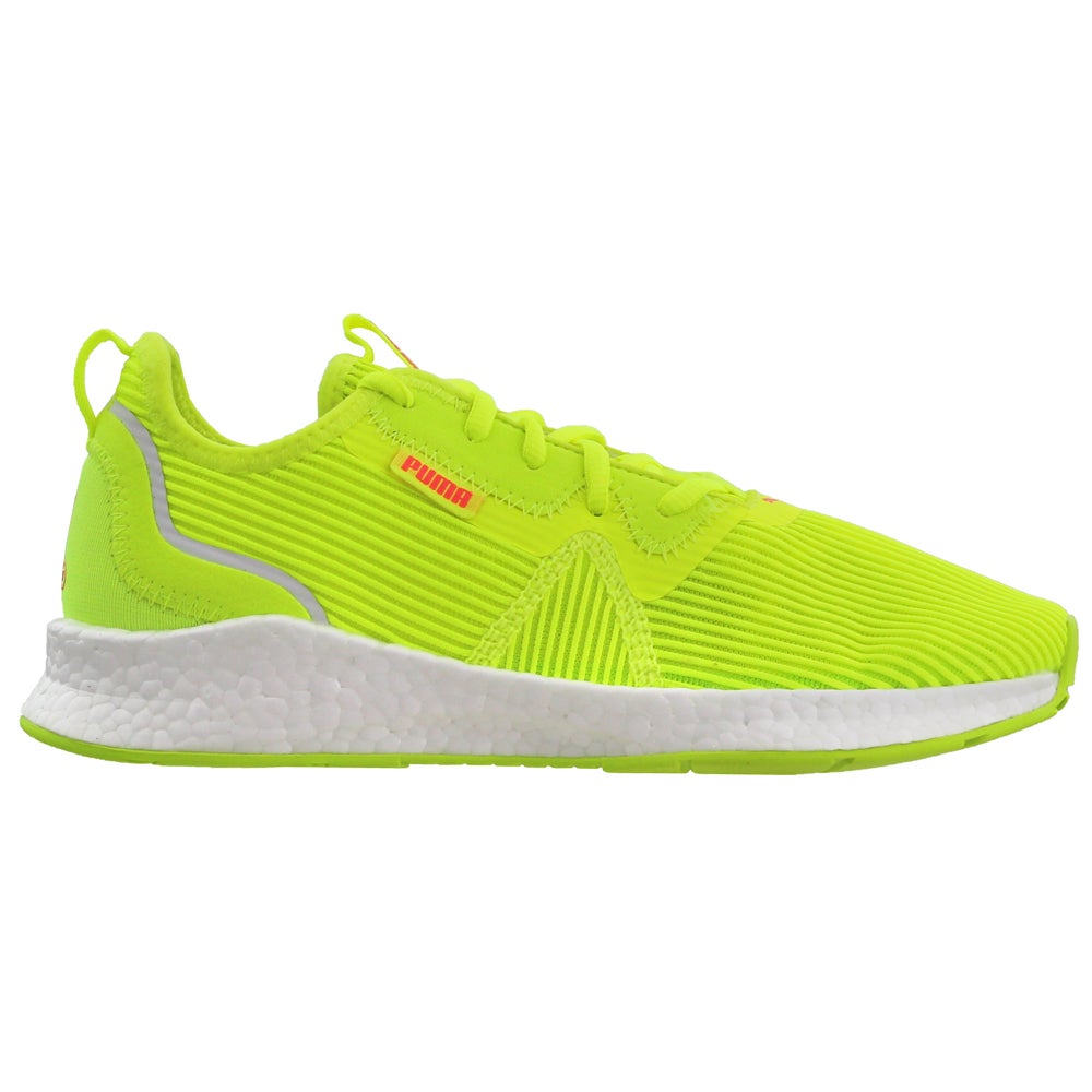 Puma Nrgy Star Femme Womens Running Sneakers Shoes - Yellow | eBay