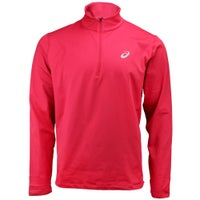 Deals on ASICS Silver Long Sleeve Winter 1/2 Zip Pullover