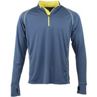 Deals on Green Layer Mens Evolution Half-Zip Long Sleeve Pullover
