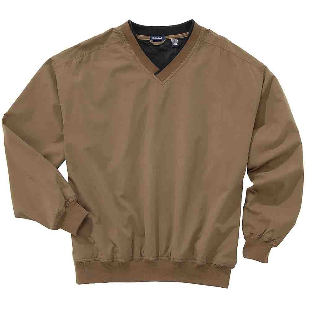 Mens Windproof//Water-Resistant Microfiber Harbor Mesh Shell Jacket 3 Colors
