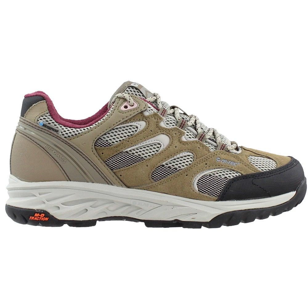 92e38449 Hi-Tec V-Lite Wildfire Low I Waterproof Hiking Boots - Taupe ...
