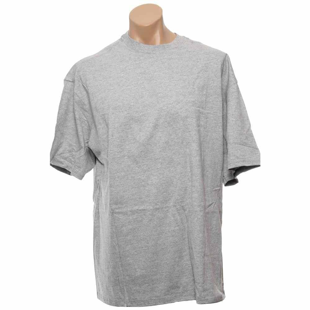 adidas SS Tee Shirt Soccer FS Back Logo Grey - Mens  - Size Xxl