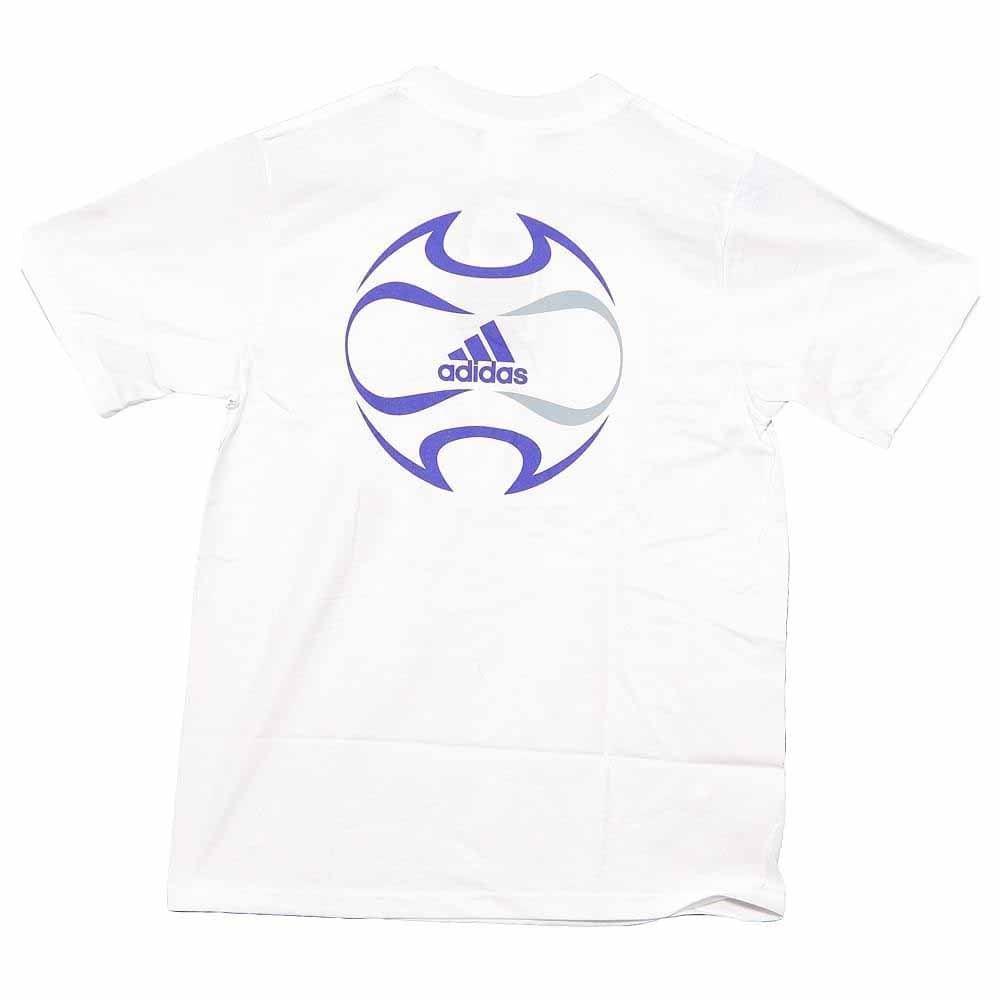 adidas SS Tee Shirt Soccer FS Back Logo White - Mens  - Size Xxl