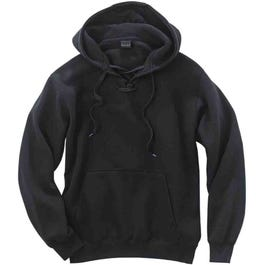 Lace-Up Pullover Hoodie