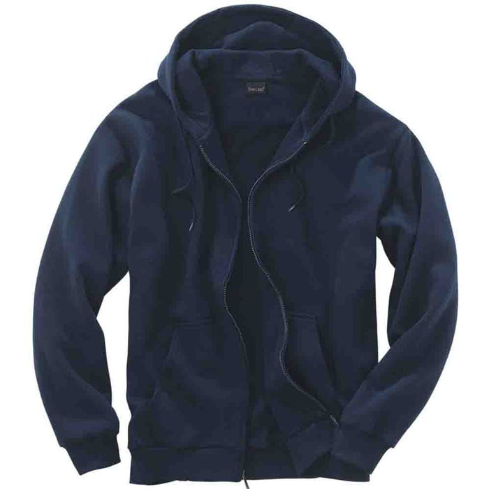 River's End Men's Thermal Lined Zip Hoodie