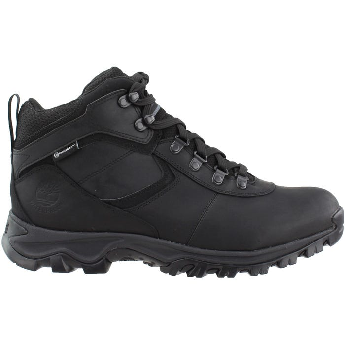 81ae865807c Timberland Earthkeepers Mt. Maddsen Mid Waterproof Black Hiking Boots and  free shipping on orders more than $75