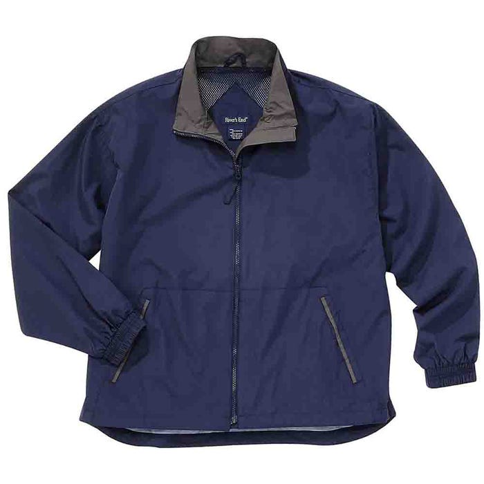 Mid-Length Microfiber Jacket