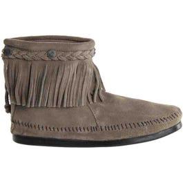 Hi Top Back Zip Boot