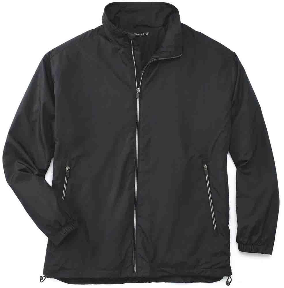 Rivers End Lightweight Jacket Black - Mens  - Size
