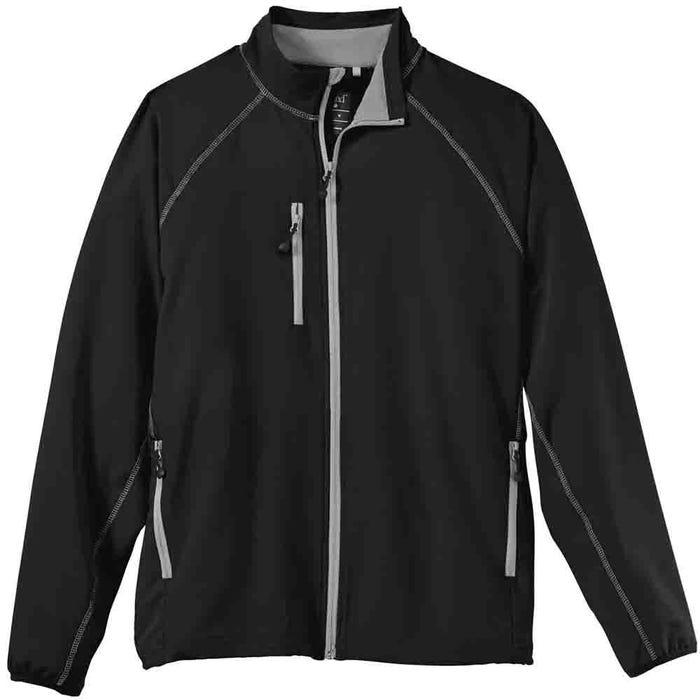 Contrast-stitch Stretch Jacket