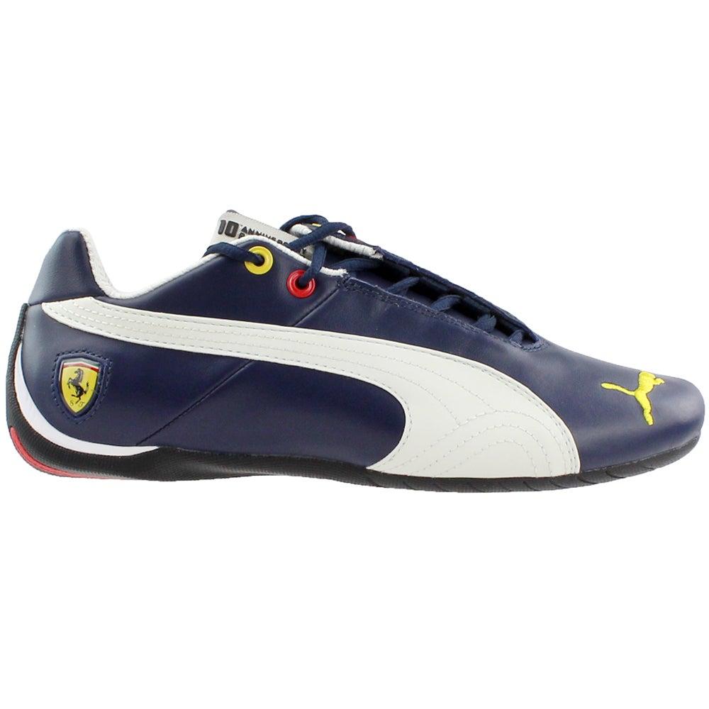 f3b78cc0ab2dda Details about Puma Scuderia Ferrari Future Cat Leather Sneakers Blue - Mens  - Size 6.5 D