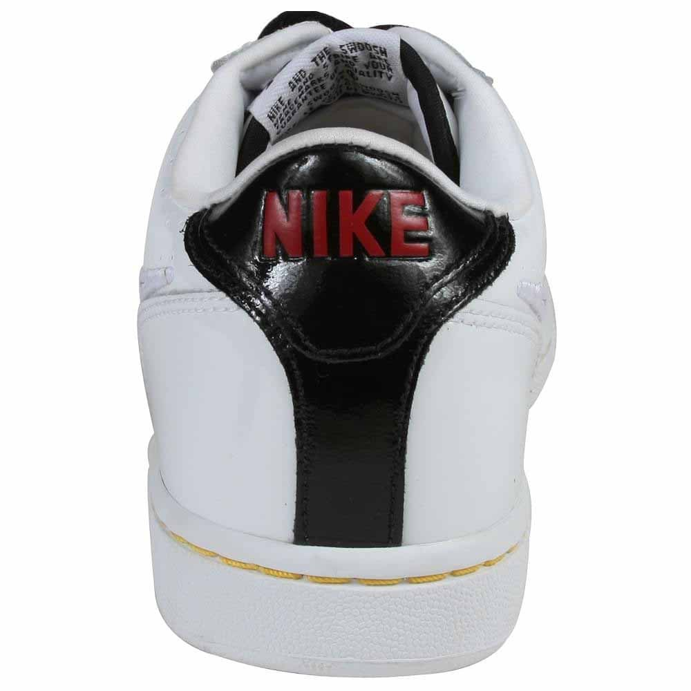 Nike Infiltrator - White - Mens Durable and stylish flame-touched leather upperPadded, fabric-lined upper cradles your footZoom Air Unit in the forefoot for added cushioning and comfortTraditional lace closure allows for a secure fitLong-lasting, high-traction rubber outsole