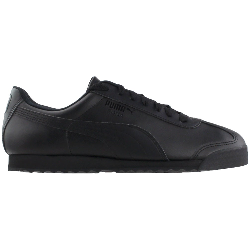 e44e083627f1de Details about Puma Roma Basic Running Shoes - Black - Mens