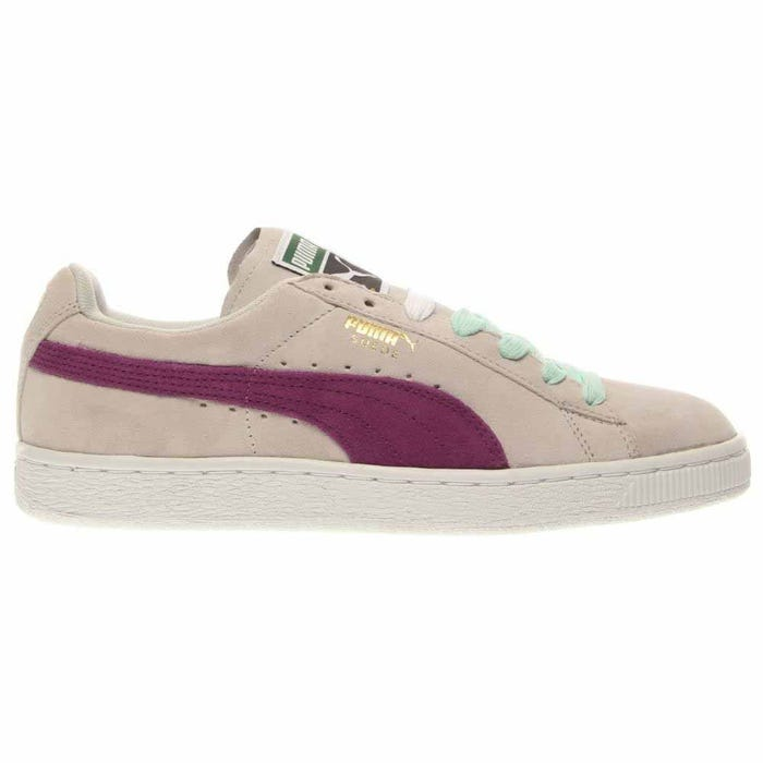 f162d3948fdb44 Puma Suede Classic Pink Retro Basketball Shoes and get free shipping ...