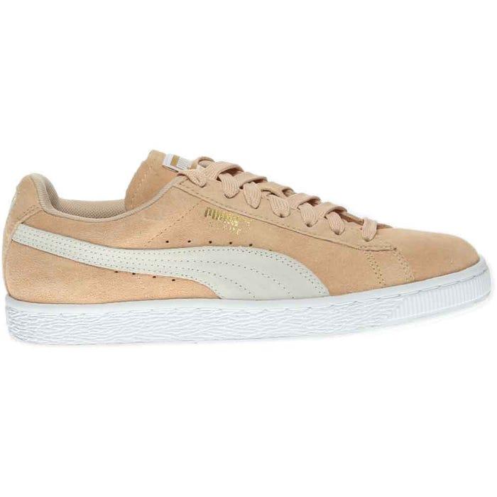 20e255fbb1ef Puma Suede Classic Beige Retro Basketball Shoes and get free ...