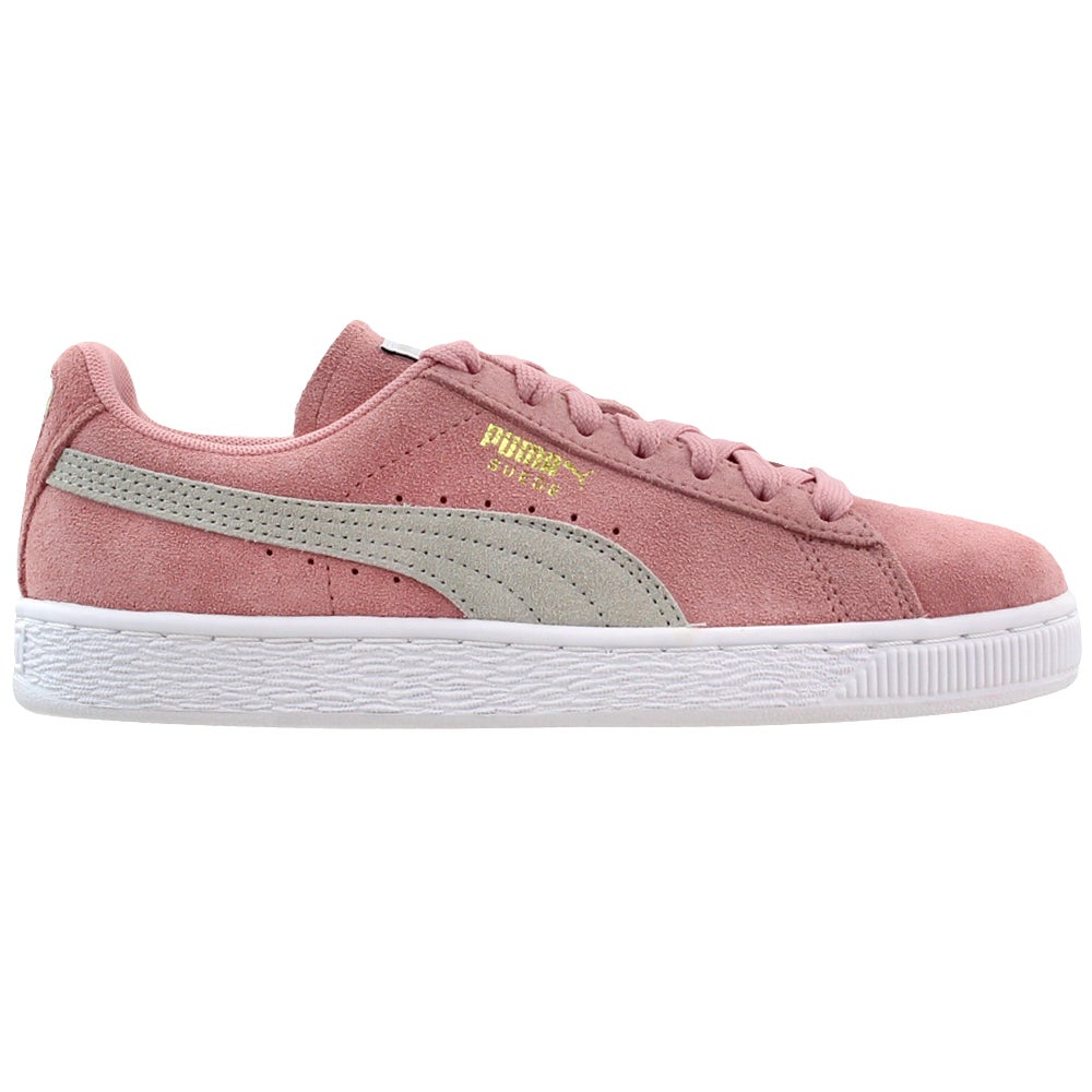 Puma Suede Classic Pink Womens Lace Up