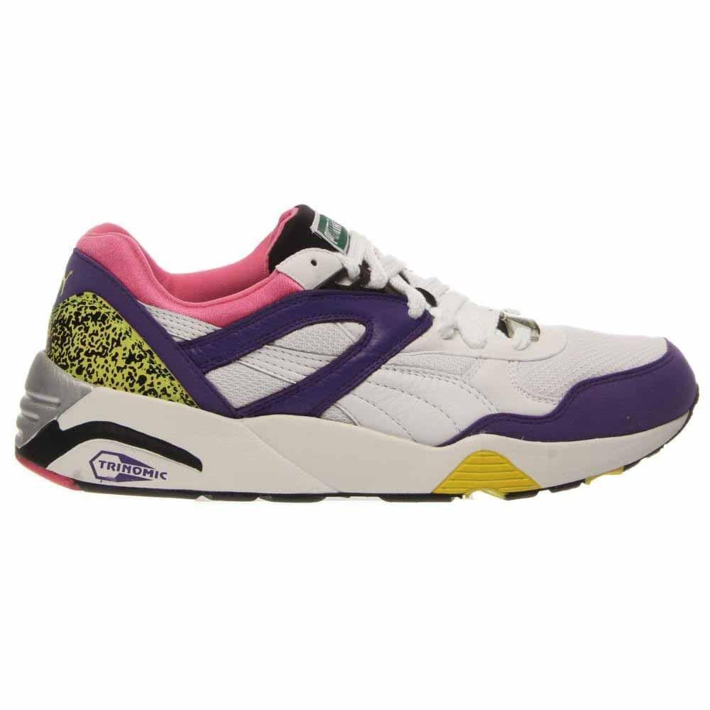 02b6f3ed1b85 Details about Puma Trinomic R698 Running Shoes - White - Mens