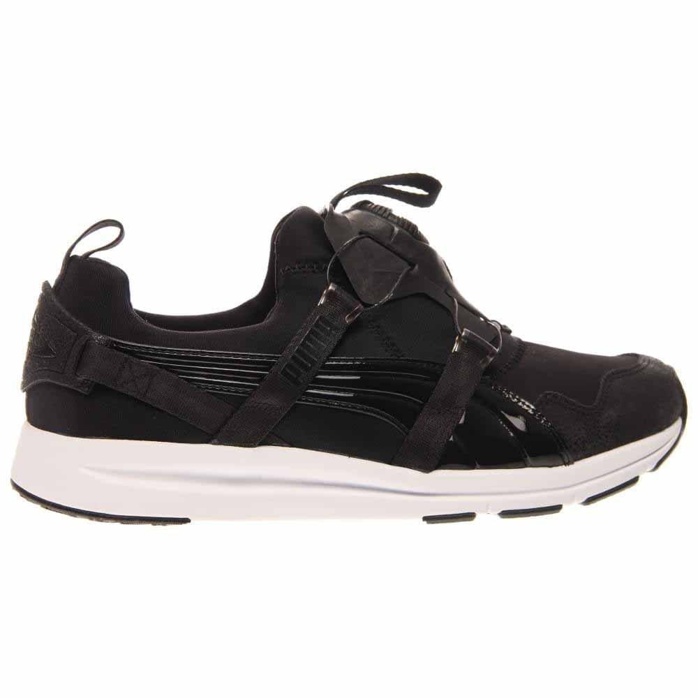 8b758711638 Details about Puma Disc Black And White Running Shoes - Black - Womens