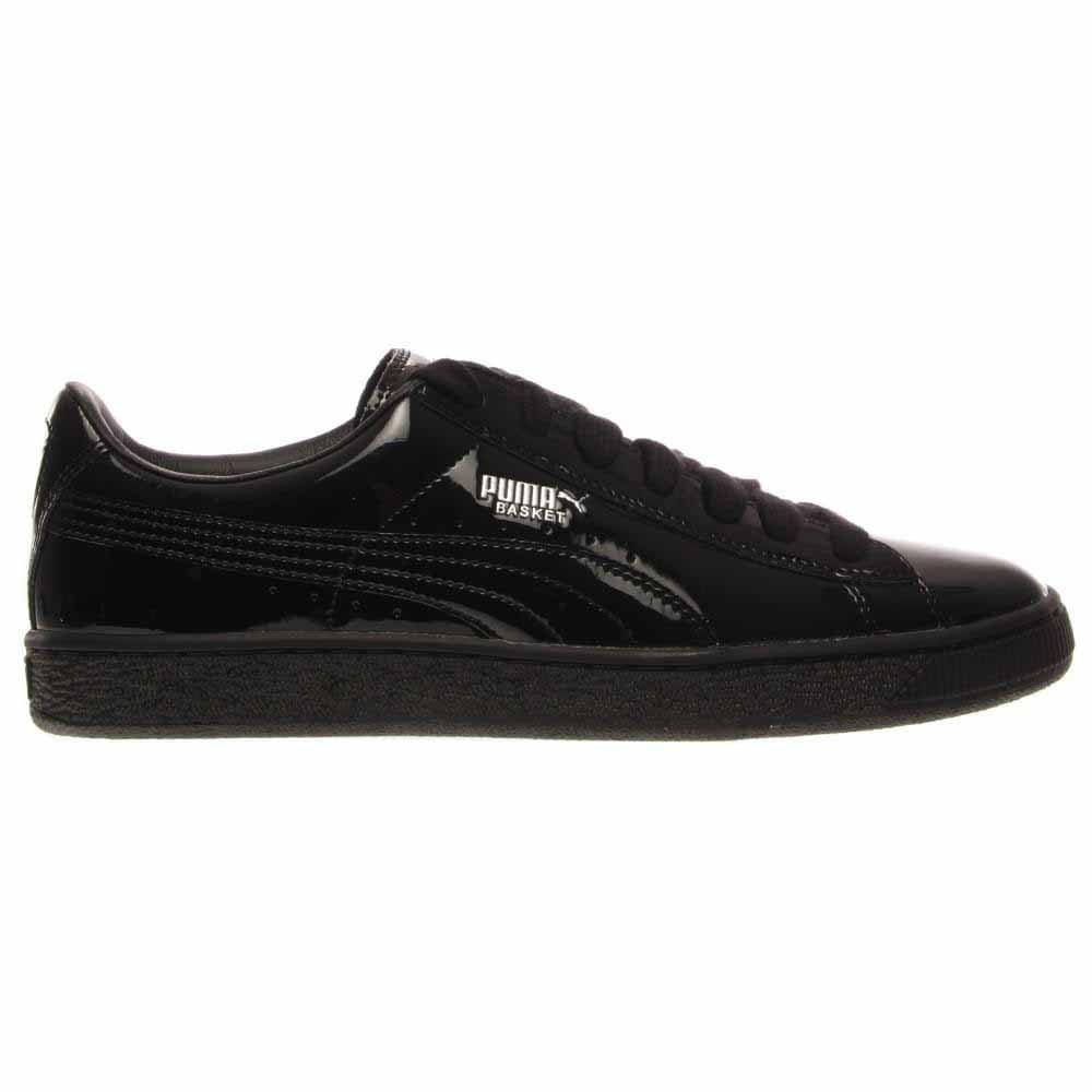 a5f47b168f8 Details about Puma Basket Matte   Shine Sneakers - Black - Mens