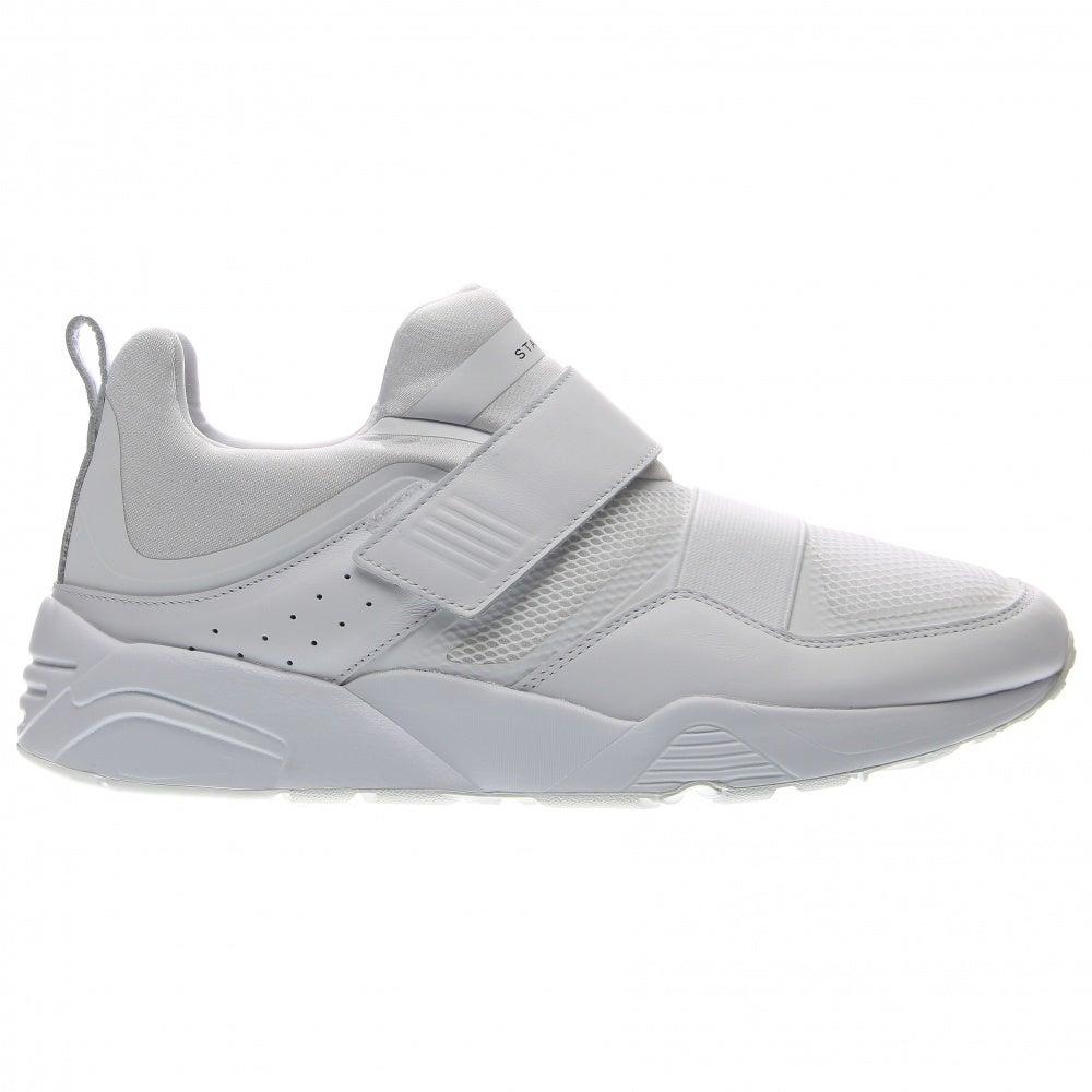c8923f0b0f0c2 Puma Blaze of Glory Strap X Stamp'd Sneakers - White - Mens | eBay