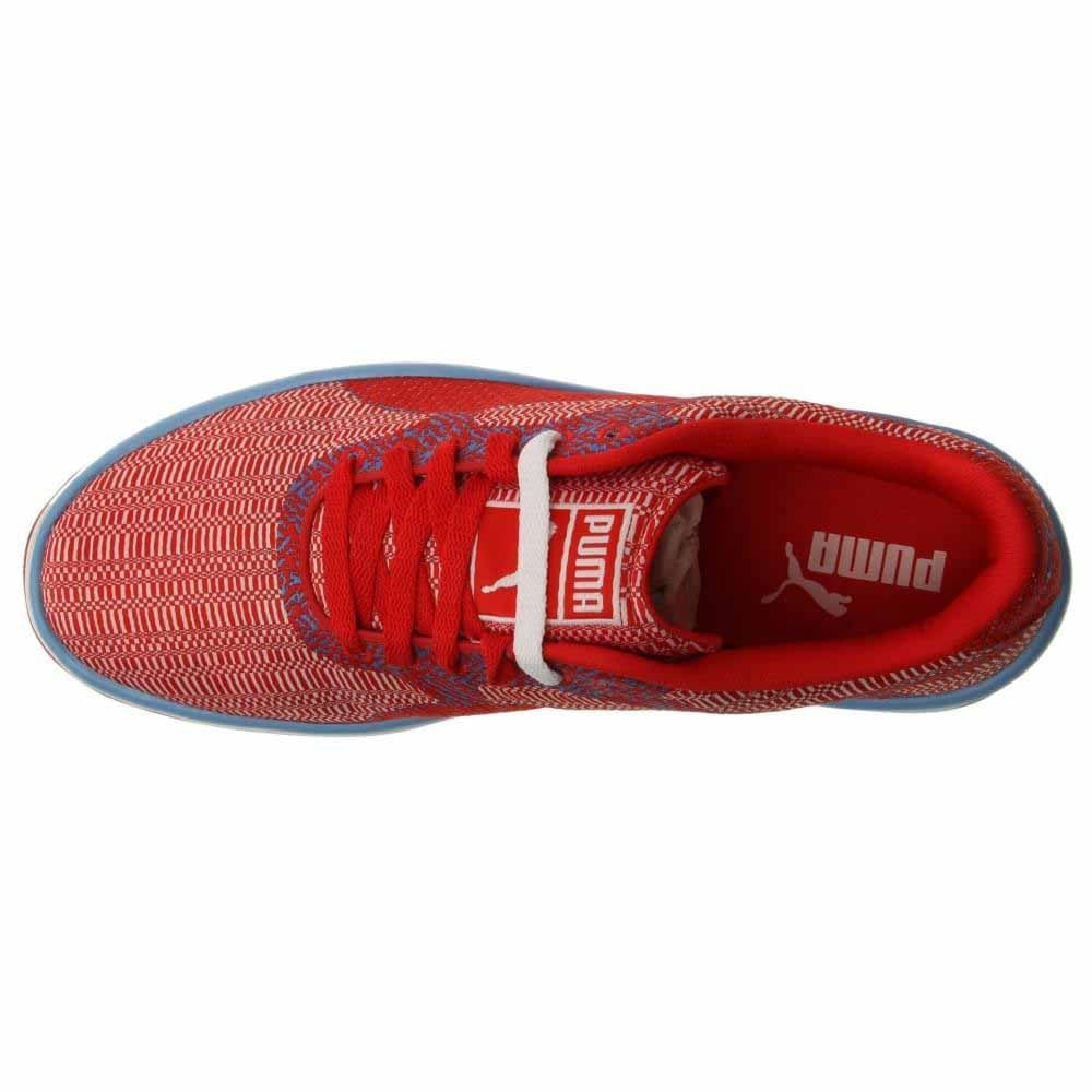 Puma GV 500 Woven Mesh Lace Up Sneakers