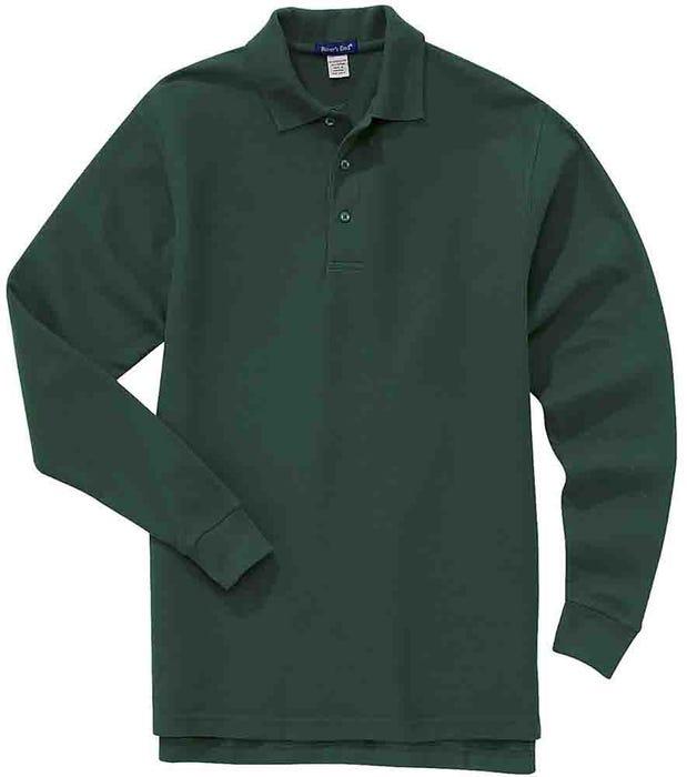 River's End Long Sleeve EZCare Sport Polo Shirt