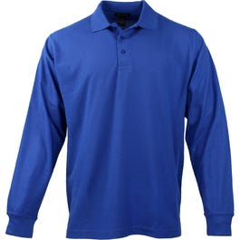 Long Sleeve EZCare Sport Polo Shirt
