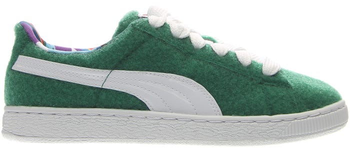 e2724935eae Puma X Dee   Ricky Basket W Green Sneakers and get free shipping on orders  more than  75