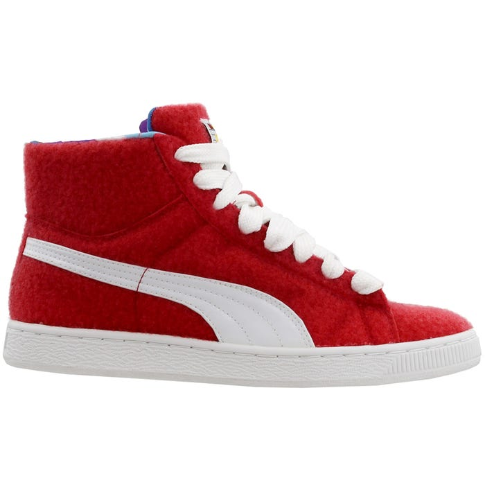 7fa3f9a127 Puma X Dee & Ricky Basket Mid Red Sneakers and get free shipping on orders  more than $75
