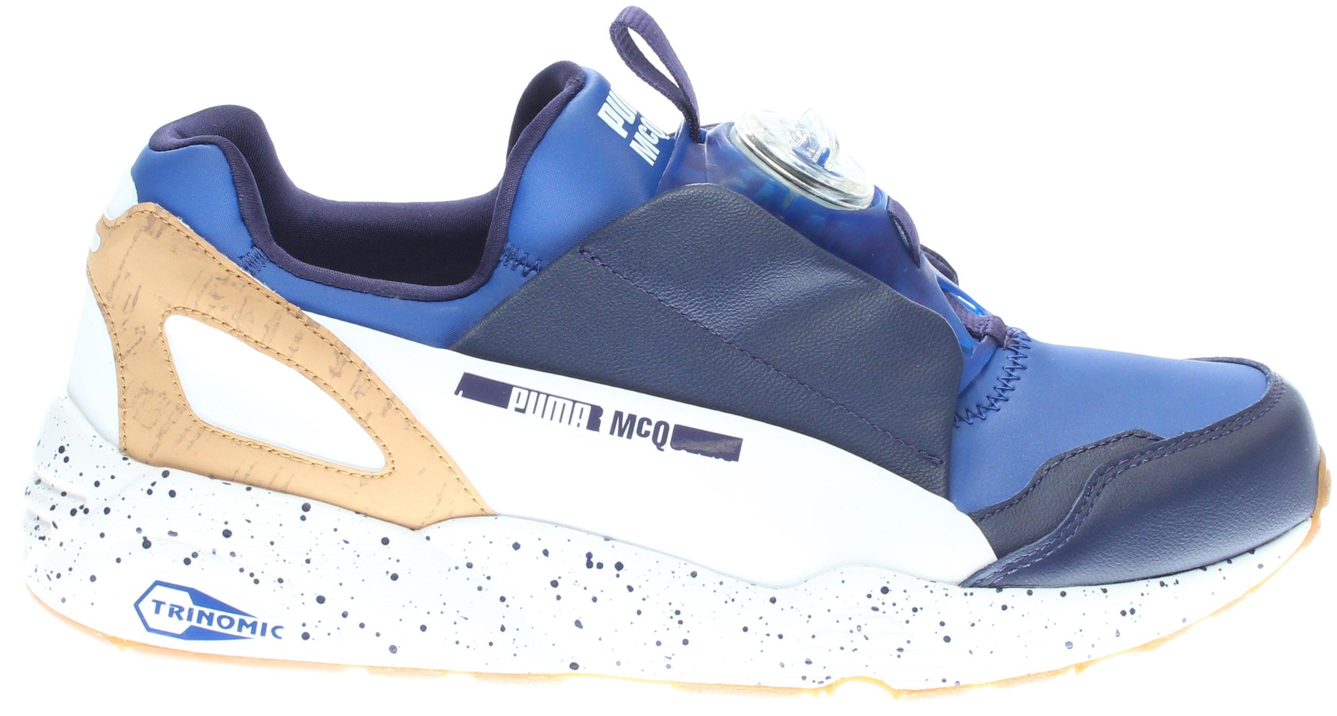 Puma X MCQ Disc Blue Blue - Mens  - Size 12