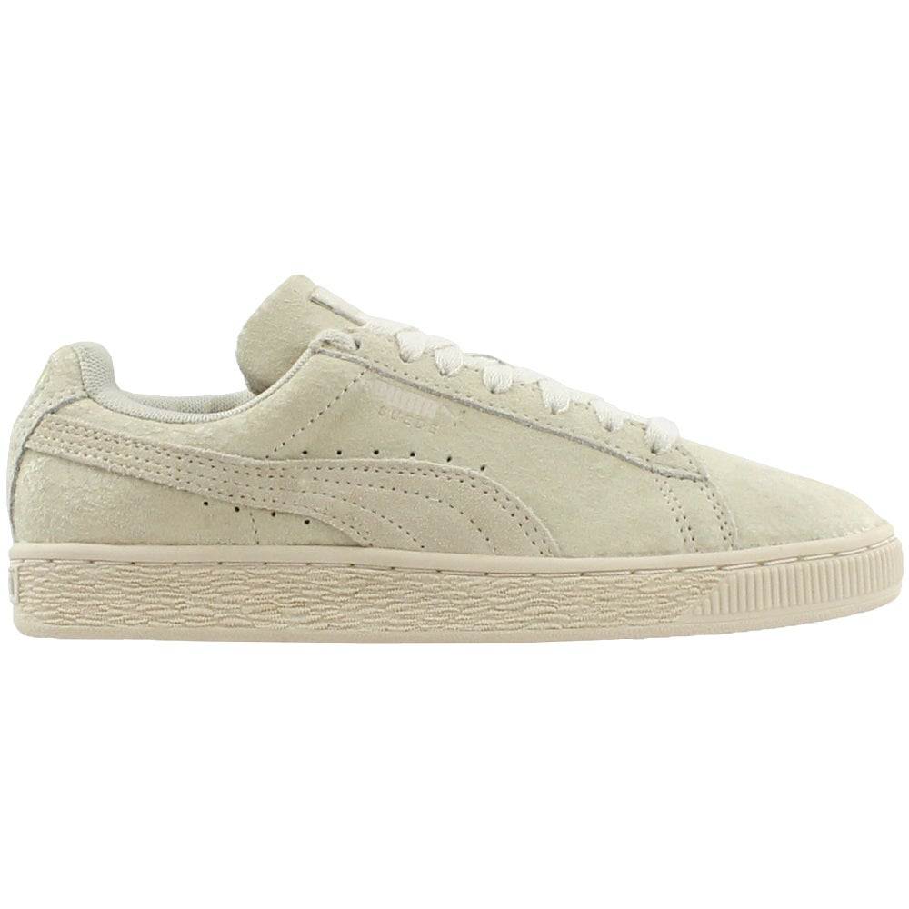 5a8f479b3c5a Details about Puma Suede Remaster Sneakers - Beige - Womens