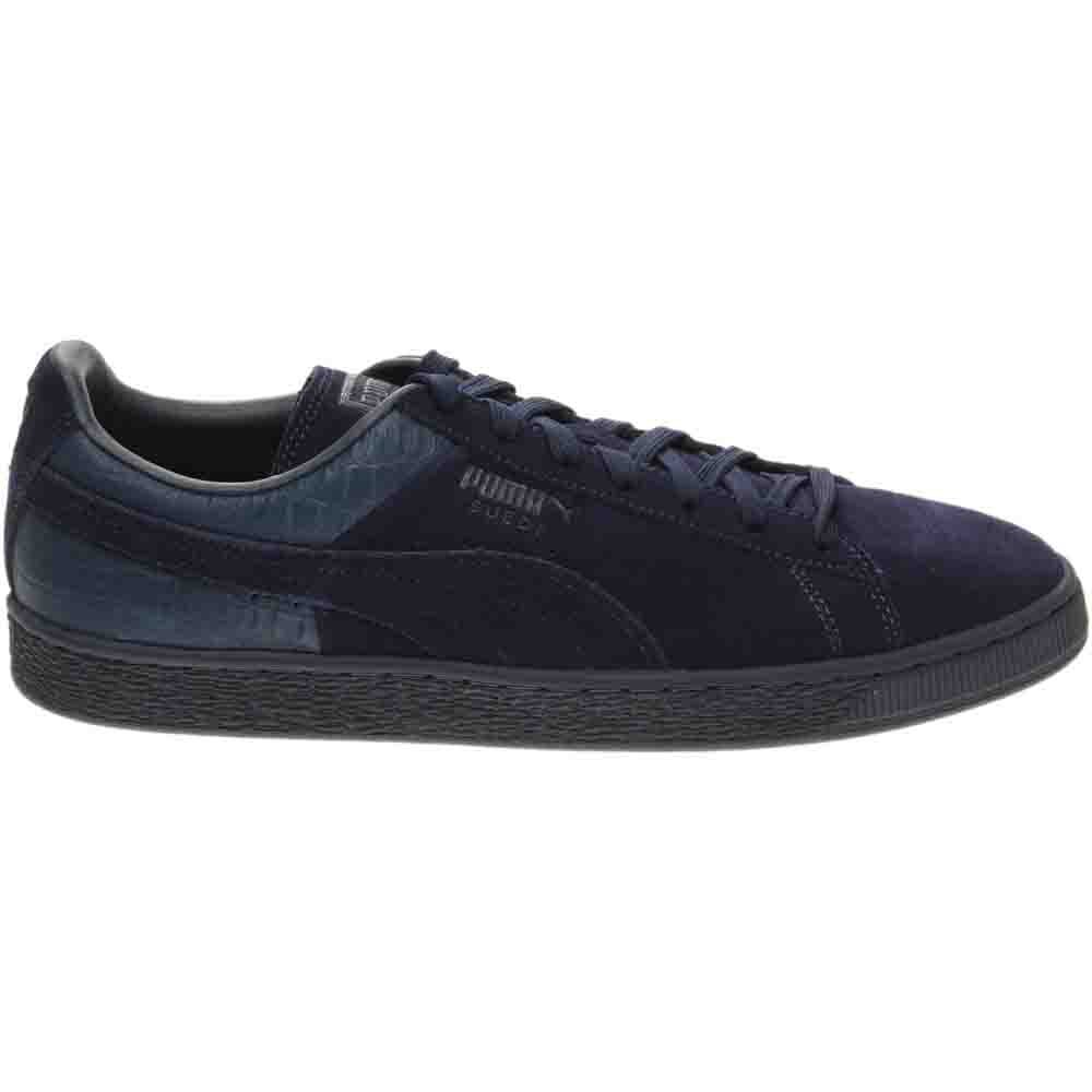 Puma Suede Classic Casual Emboss Men's Sneakers Blue - Mens  - Size 11.5
