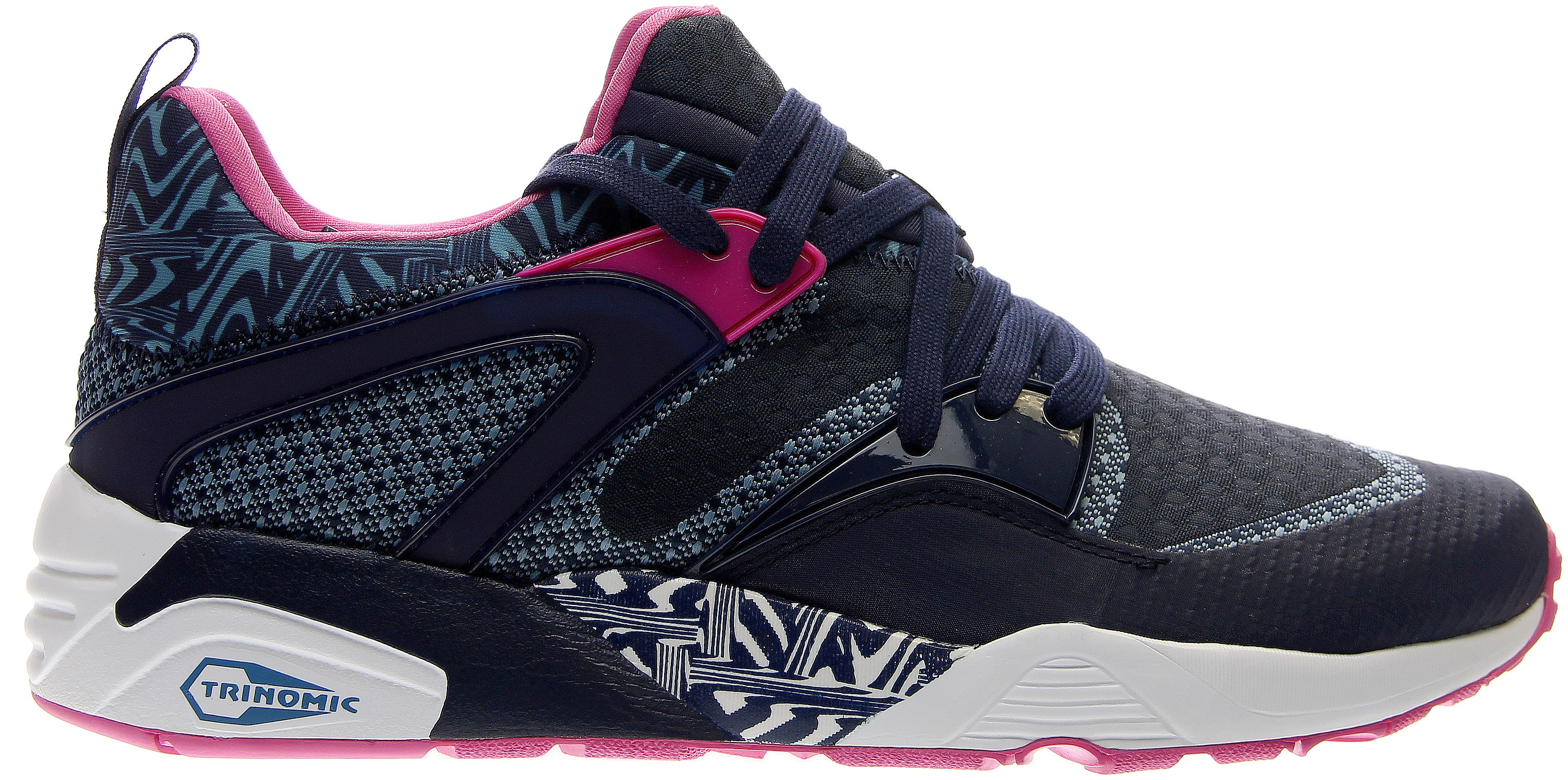 Details about Puma Blaze Of Glory Woven Navy Mens
