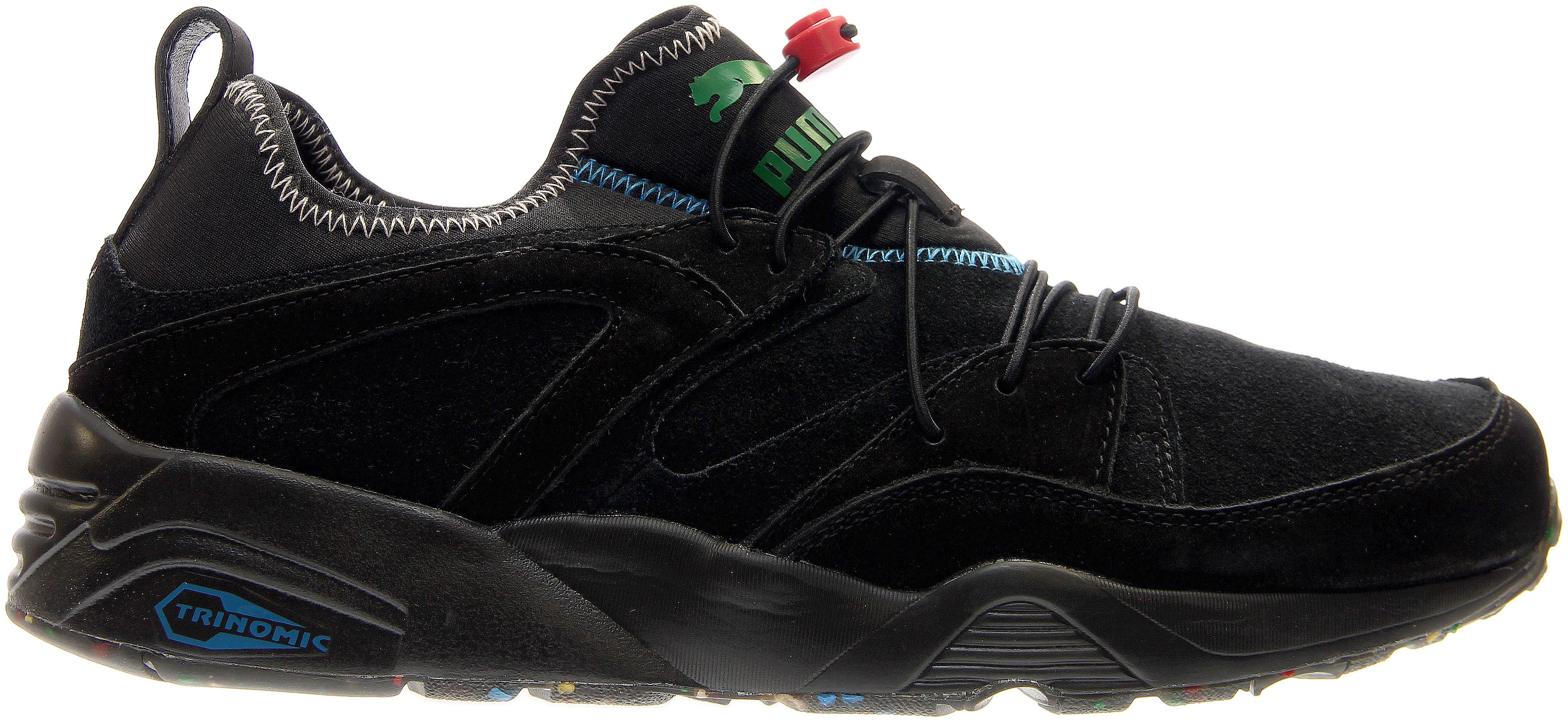 Details about Puma Blaze of Glory Soft Flag Sneakers - Black - Mens 72c1563c0