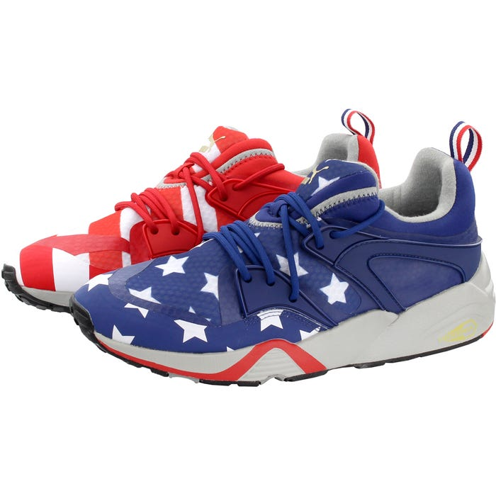 Puma Blaze of Glory RWB Red Lifestyle Shoes and get free shipping on orders  more than  75 89cc7e8538a4
