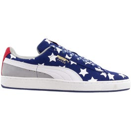 3055e76d5f7 Puma Suede RWB blue shoes and get free shipping on orders more than  75 at  Shoebacca.com