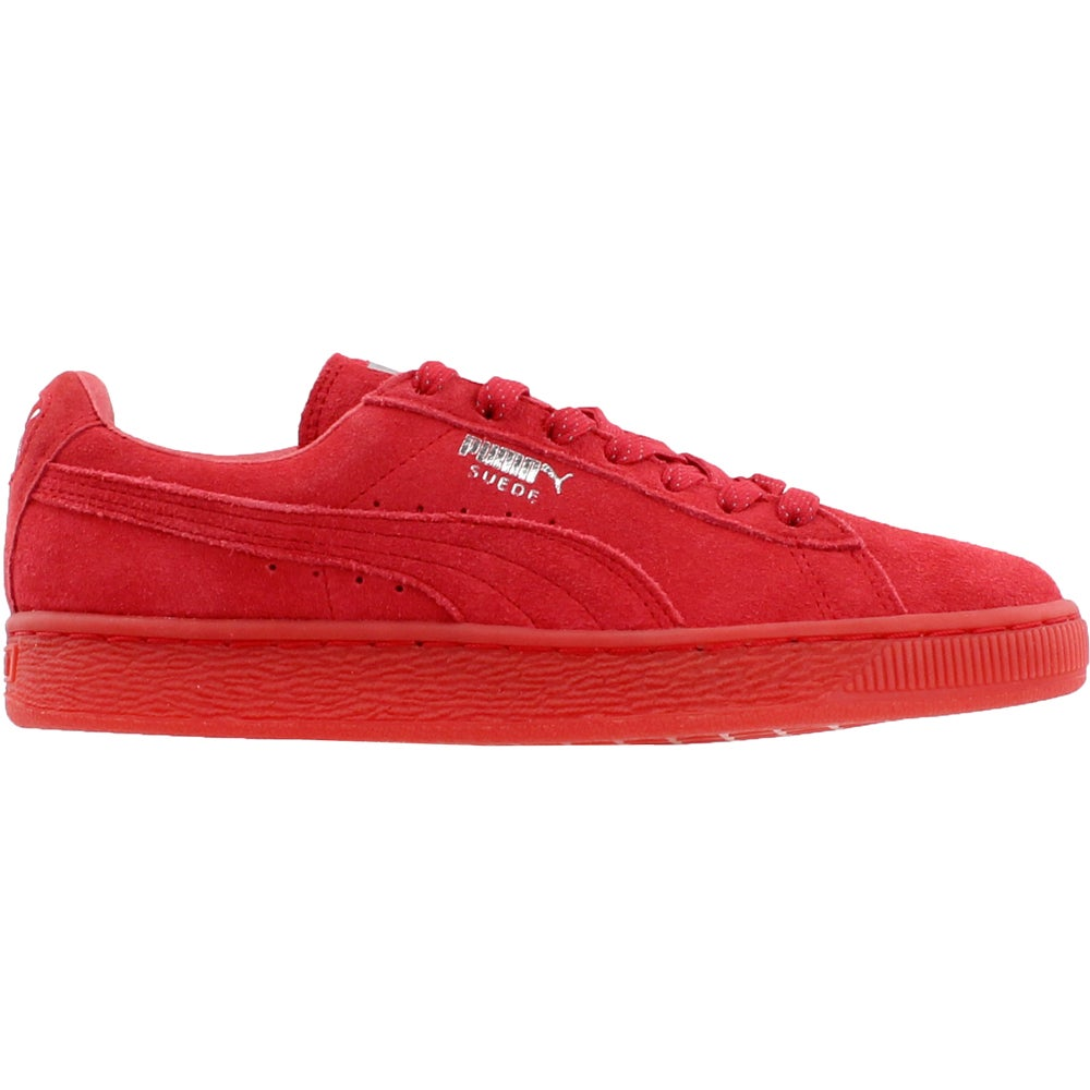 Details about Puma Suede Classic Mono Reflected Iced Sneakers - Red - Womens 307ccfd6f
