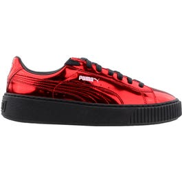Puma Basket Creeper Metallic Black Athletic Inspired Shoes and get free  shipping on orders more than  75 c25cf8cbc