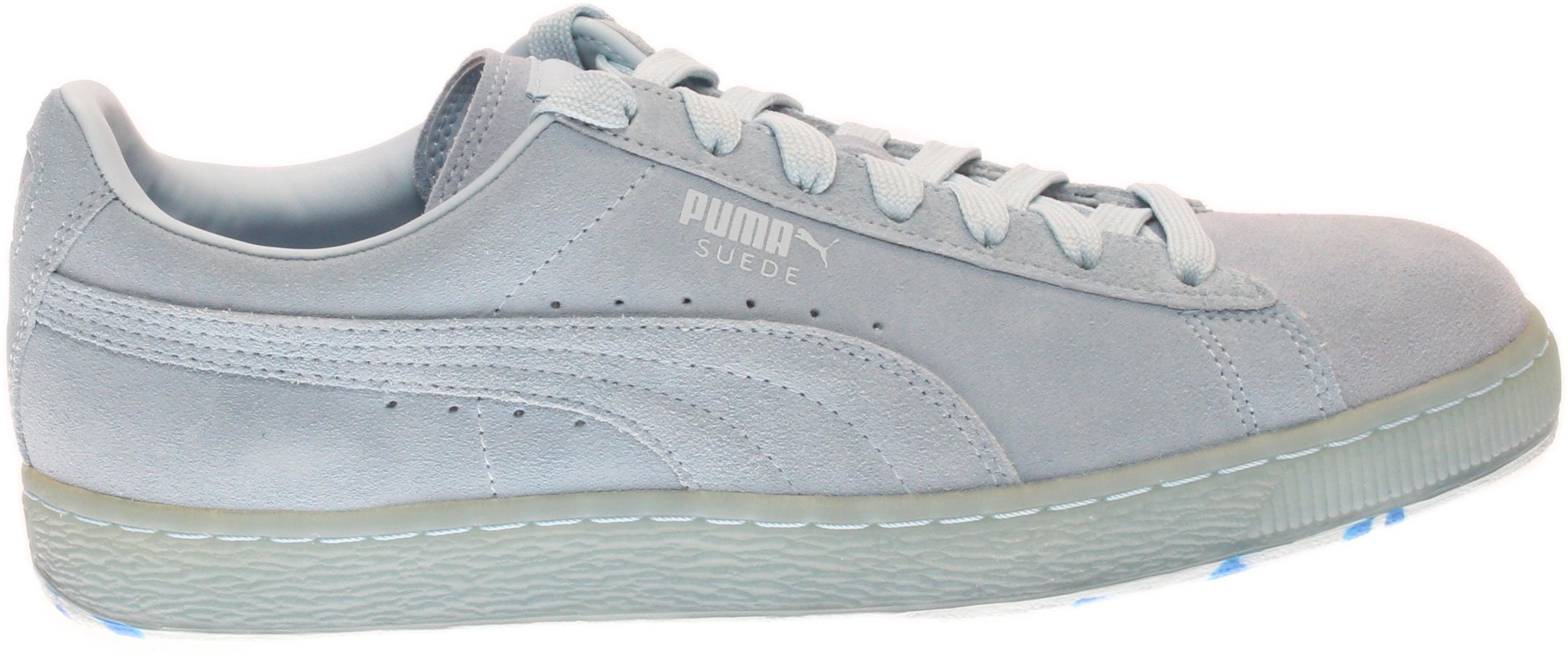 ca73e822eec1 Puma Suede Classic Ice Mix Sneakers - Blue - Mens