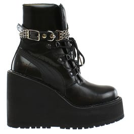 competitive price 570b0 ea25e Fenty by Rihanna Sneaker Boot Wedge