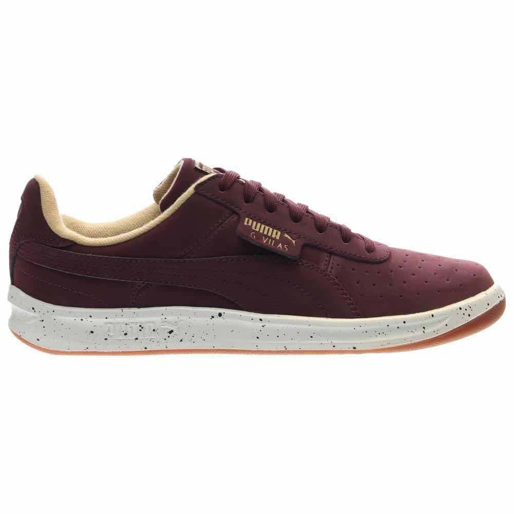4dd209d92e61 Details about Puma G. Vilas Nubuck Speckle Tennis Shoes Red - Mens - Size 8  D