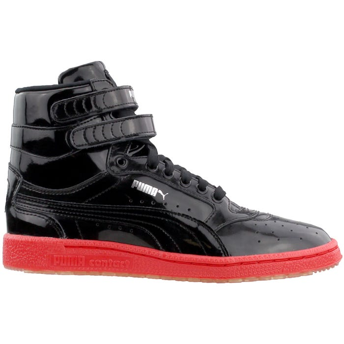 ed808dac182f Puma Sky II Hi FG Foil Black shoes and get free shipping on orders ...