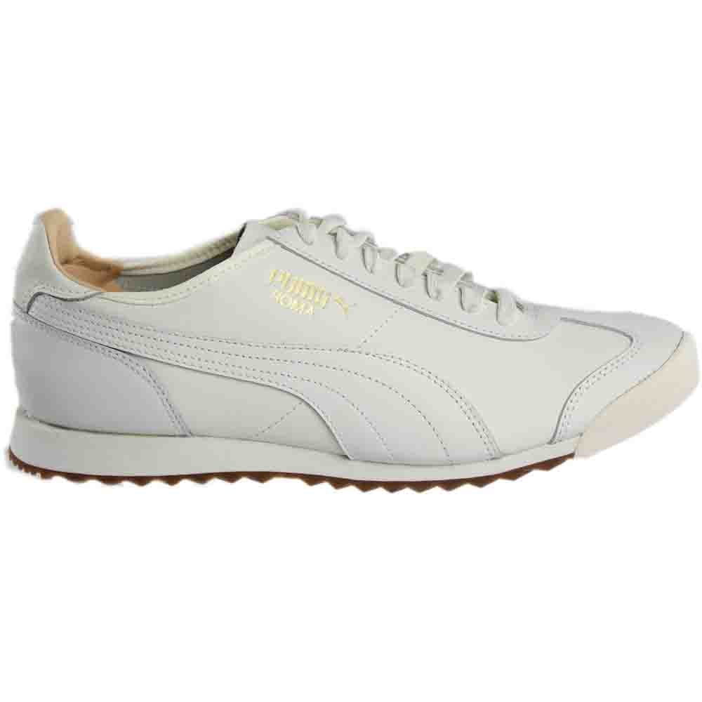 5fd59c7875fb69 Details about Puma Roma OG Natural Sneakers - White - Mens