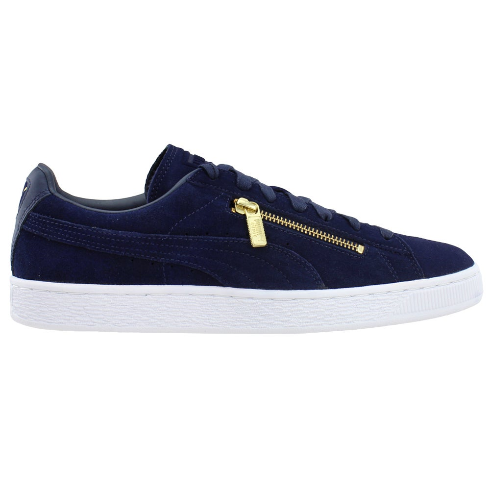 Sneakers Casual Shoes Blue- Mens- Size