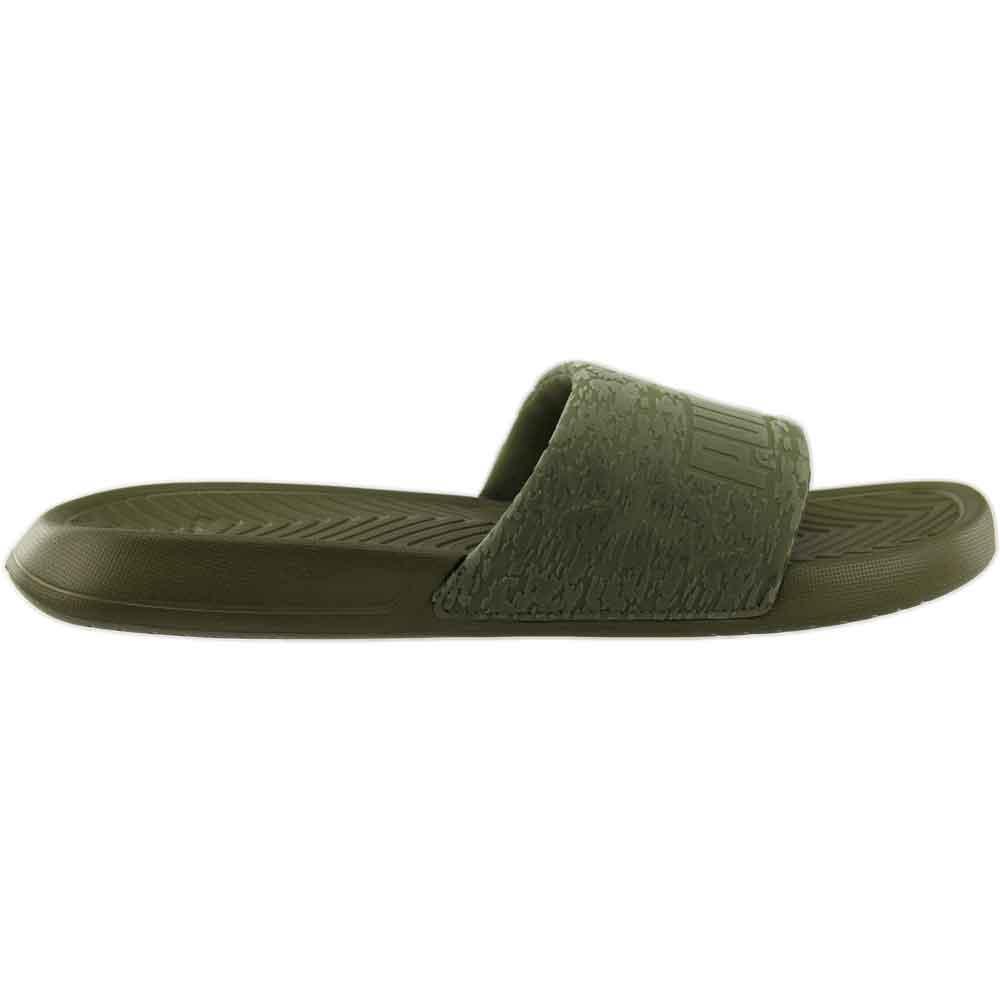 65639a756c6 Details about Puma Popcat Slide VR Sandals - Green - Womens